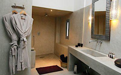 Tadelakt moderne badeværelse